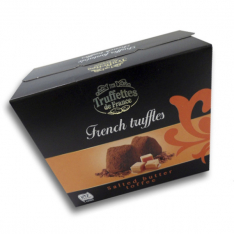 Chocmod Truffettes de France sweets with pieces of salted caramel 200g photo