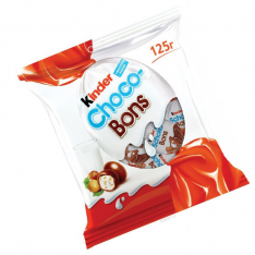 Kinder Choco-Bons milk chocolate candies with milk and nut filling 125g photo