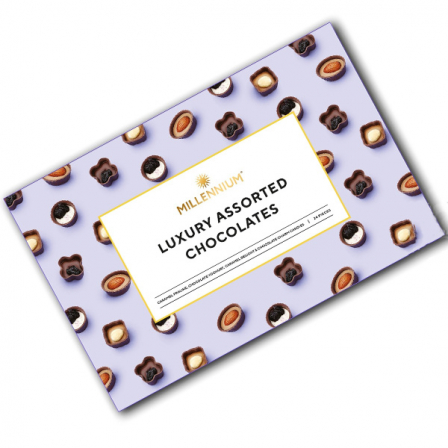 Конфеты шоколадные Millennium Корзинка ассорти 220г фото
