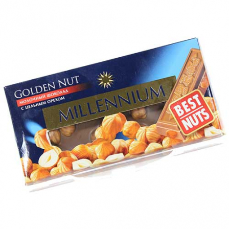 Шоколад молочный Millennium Golden 90г фото