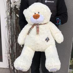 М'яка іграшка «Ведмедик Тедді» 70 см (бежевий) фото