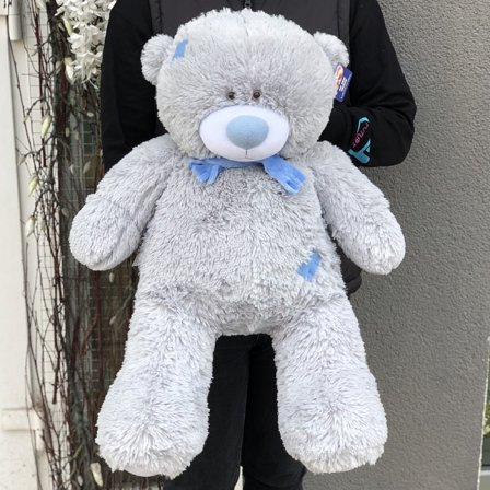Мягкая игрушка «Мишка Тедди» 70 см (серый) фото
