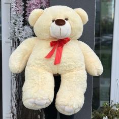 М'яка іграшка «Ведмедик Ветли» 130 см (бежевий) фото