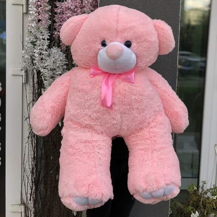 Мягкая игрушка «Мишка Ветли» 130 см (розовый) фото