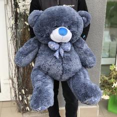 Мягкая игрушка «Мишка Зефир» 100 см (синий) фото