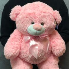 Мягкая игрушка «Розовый мишка» фото