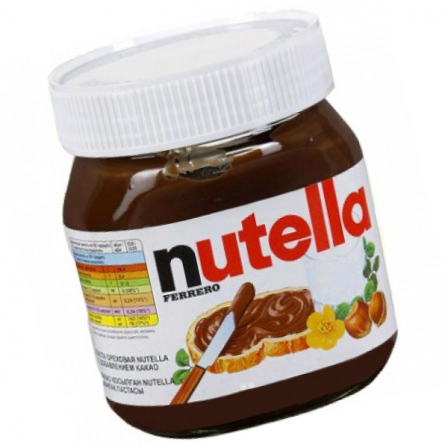 Паста Ferrero Nutella орехово-шоколадная с какао 180г фото