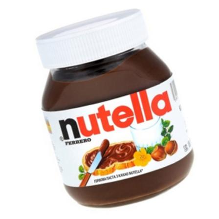 Паста Ferrero Nutella орехово-шоколадная с какао 630г фото