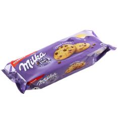 Печенье Milka с кусочками шоколада 168г фото