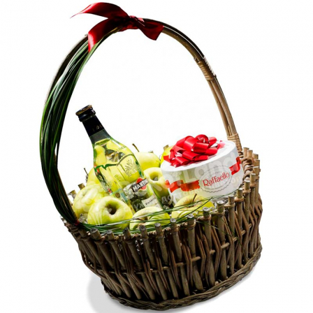 Подарункова корзина «Комплімент» фото