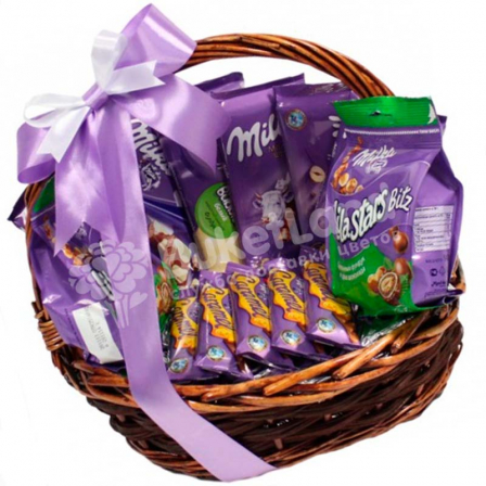 "Gift basket ""Milka"" photo"