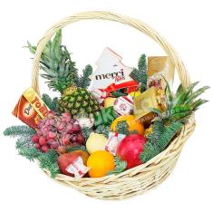 Подарочная корзина «Новый Год» фото