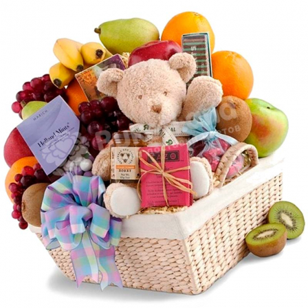 "Gift basket ""With a toy"" photo"