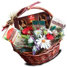 Подарочная корзина «Шоколадная» фото