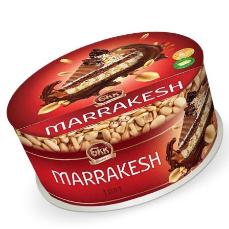 Торт БКК Маракеш 850г фото