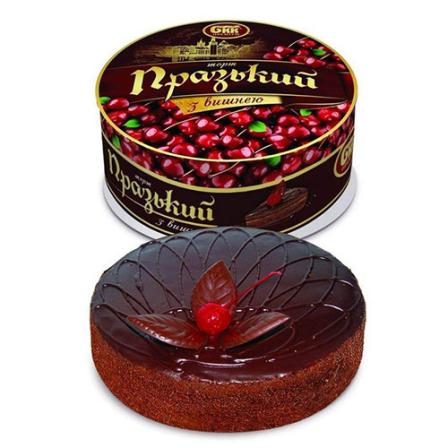 Торт Пражский с вишней БКК 850г фото