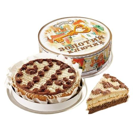 Торт Золотой Ключик Roshen 850г фото
