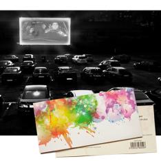 Подарунковий сертифікат на Сеанс в авто кінотеатрі | Київ фото