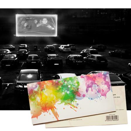 Подарочный сертификат на Сеанс в авто кинотеатре | Киев фото
