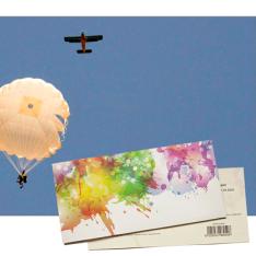 Подарунковий сертифікат на Стрибок з парашутом | Київ фото