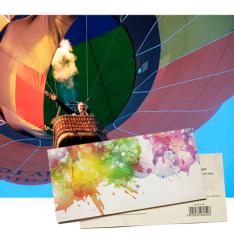 Подарунковий сертифікат на Політ на повітряній кулі в групі фото