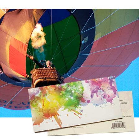 Подарочный сертификат на Полет на воздушном шаре в группе фото