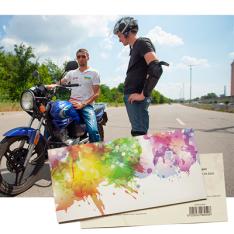 Подарунковий сертифікат на Майстер-клас на мотоциклі | Київ фото