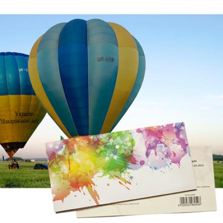 Подарочный сертификат на Полет на воздушном шаре для двоих фото