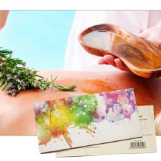 Подарочный сертификат на Тибетский медовый массаж фото