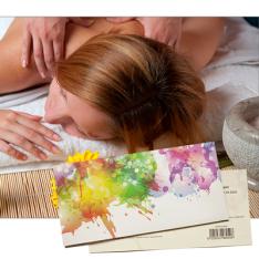 Подарочный сертификат на Антистрессовый массаж спины фото