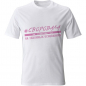 Женская авторская футболка «Своровала у СВОЕГО» фото