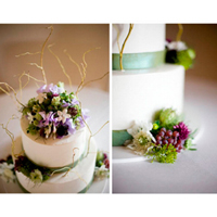 Trendy trend: Decorating a cake with fresh flowers