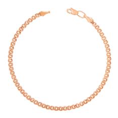 Золотой браслет с алмазной гранью фото