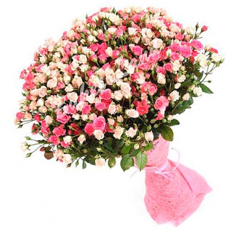 Букет из 101 розы спрей «Virginia»