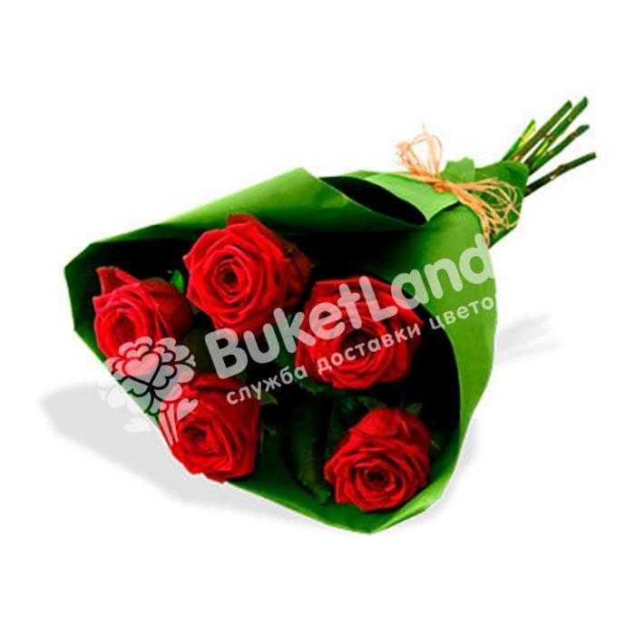Букет из 5 роз в ассортименте