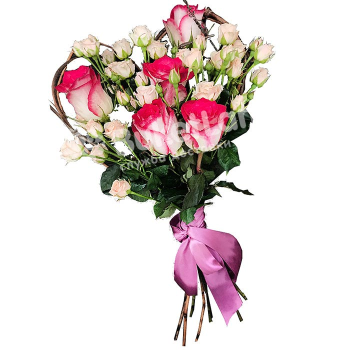 Букет цветов «Амур»