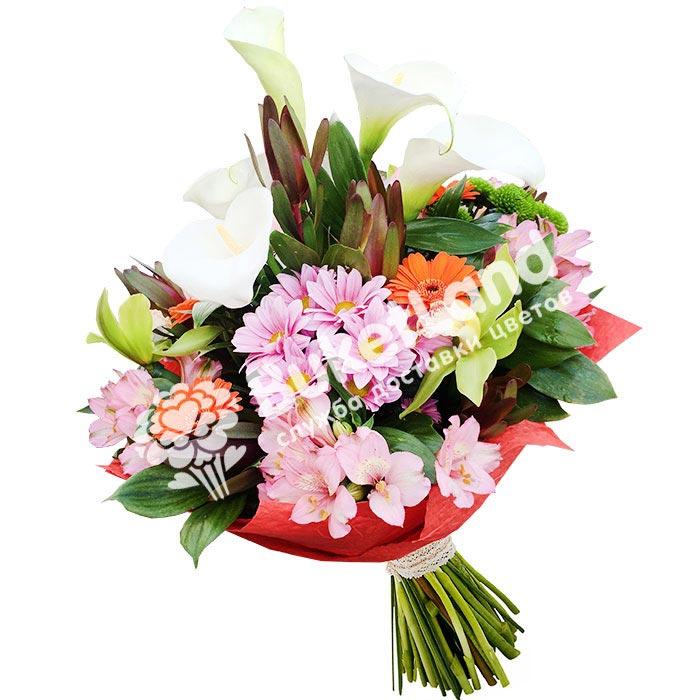 Букет цветов «Ароматное изобилие»