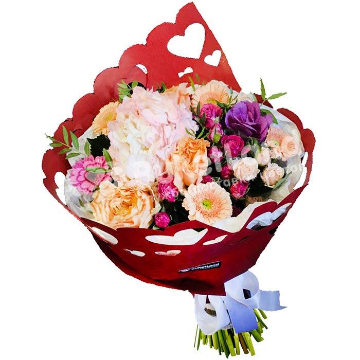 Букет цветов «Фиона»