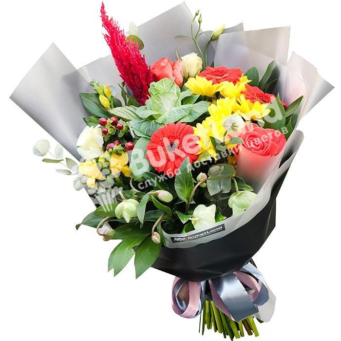 Букет цветов «Импровизация»