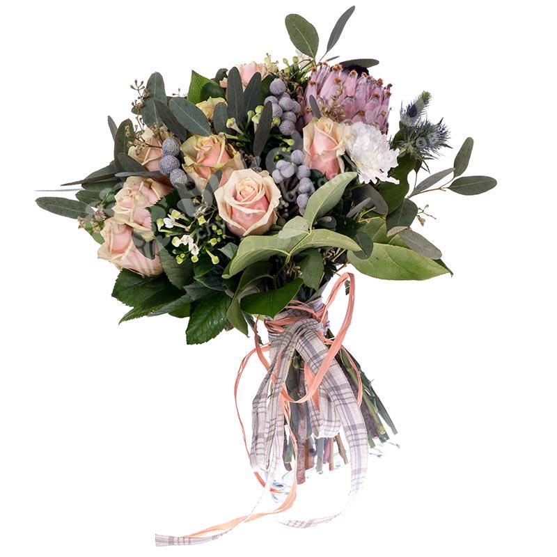 Букет цветов «Кантри Шарм»