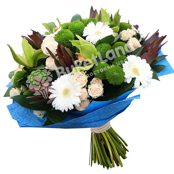 Букет цветов «Ночи венеции»