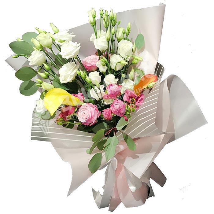 Букет цветов «Прекрасное мгновение»