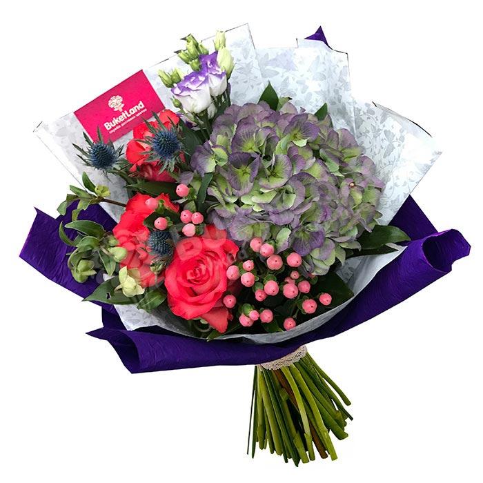 Букет цветов «Привет любимой»
