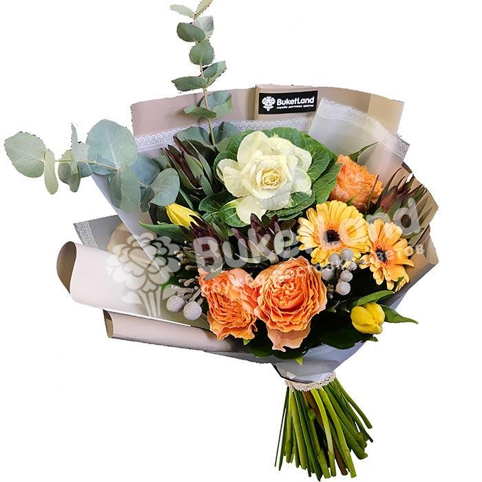 Букет цветов «Ультрамарин»