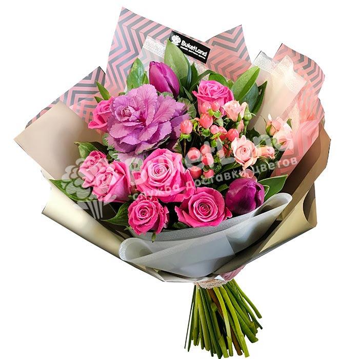 Букет цветов «Виктория»