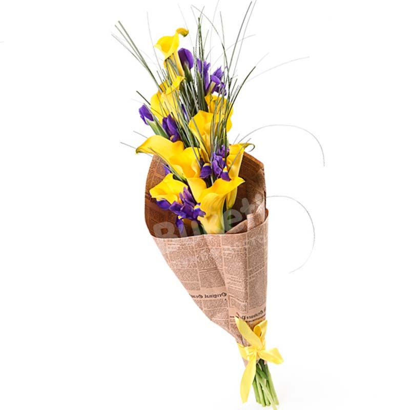 Букет цветов «Высокие чувства»