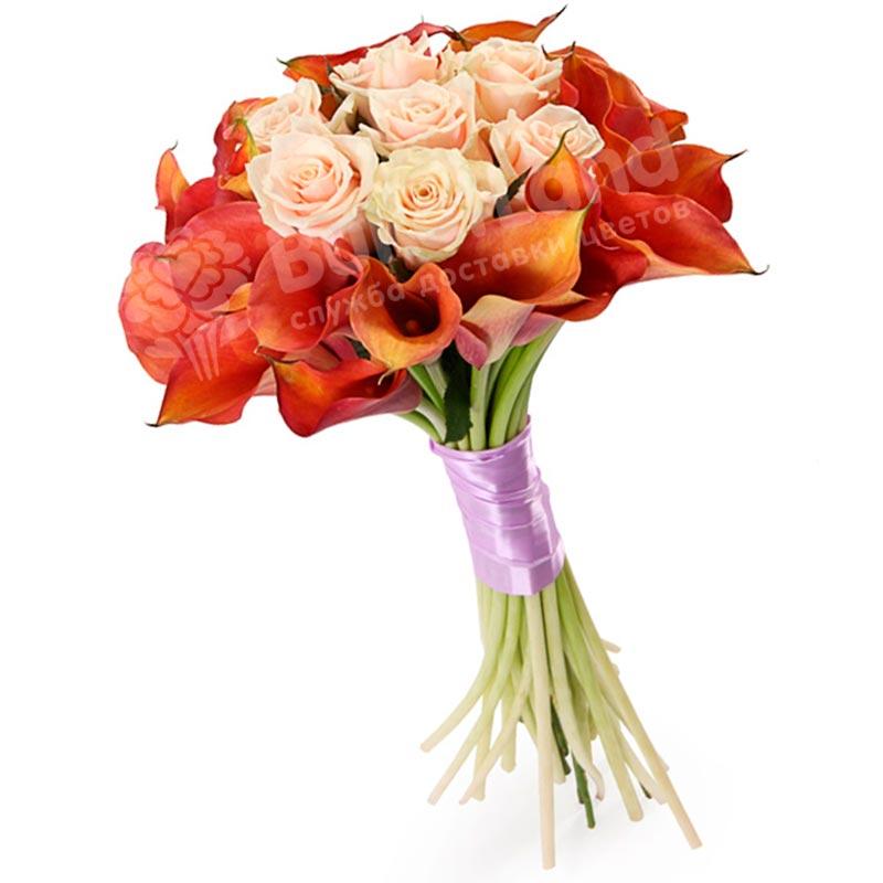 Букет цветов «Магия чувств»
