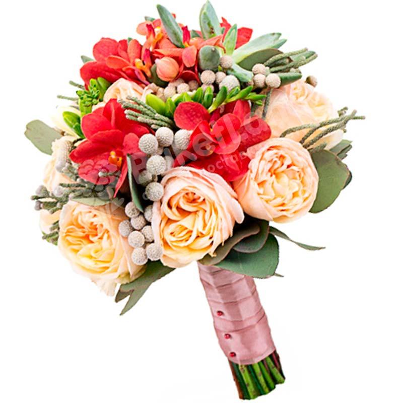 Свадебный букет невесты #15