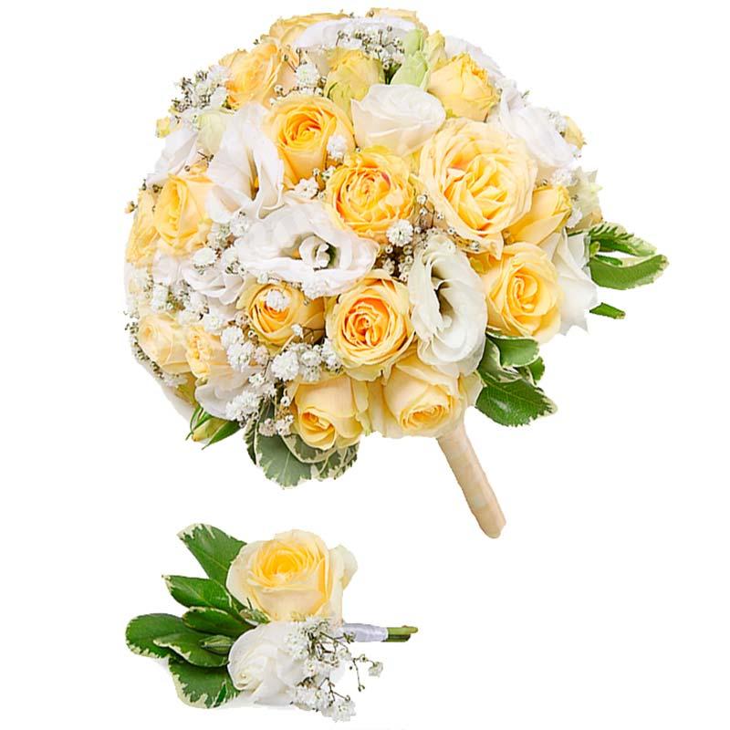 Свадебный букет невесты #29