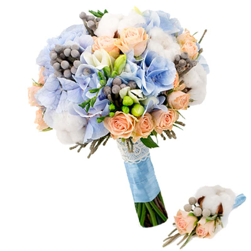 Свадебный букет невесты #61
